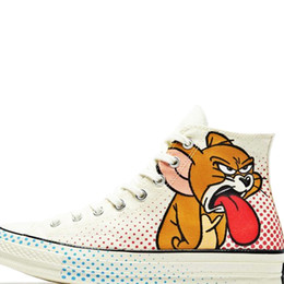$enCountryForm.capitalKeyWord UK - Hot 2019 Canvas Shoes Tom and Jerry Casual Fashion Canvas Designer Running Skateboard Shoes Sneakers High-top canvas shoes 35-41