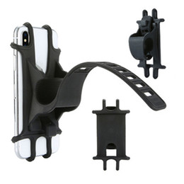 universal bikes Australia - Motorcycle Phone Holder Adjustable Bicycle Phone Mount For iPhone Samsung Universal Mobile Cell Phone Bracket Bike Handlebar Clip Stand GPS