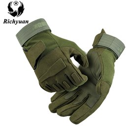 $enCountryForm.capitalKeyWord NZ - Army Tactical Gloves Men Outdoor Sports Special Forces Full Finger Gloves Antiskid Bicycle Wearable Gym