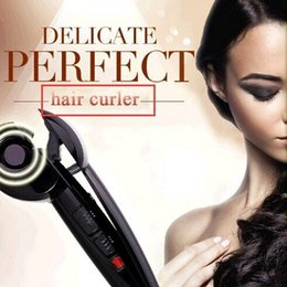 Hair Styler Roller Australia - New Magic Automatic Hair Curler Professional Hair Styling Styler Tools Hair Curling Irons Roller Curling wand EU US UK PLUG