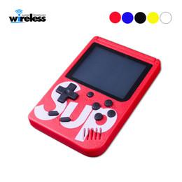 Опт Sup game box 400 Games Ретро Портативная мини портативная игровая консоль 3.0-дюймовый детский игровой плеер с батареей 1000 мАч ТВ-выход