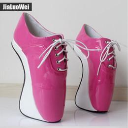 $enCountryForm.capitalKeyWord Australia - Women 2019 Ultra High Heels Pony Fashion Sexy Pumps Elastic band Ankle Boots Short Plush Shiny Pointed Toe Hoof Heelless Ballet Shoes