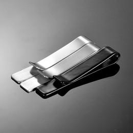 $enCountryForm.capitalKeyWord Australia - Classic Men Tie Pin Clips of Casual Style Tie Clip Fashion Jewelry Exquisite Wedding Bar Black & Silver Color Cufflinks Man