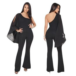 d17428607dec Nice Jumpsuits UK - European Standard Size Women s Bodysuits Nice New Sexy  Jumpsuit Pants Oblique