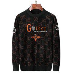 Crowns letters online shopping - 2019ss Luxurys Snake Tiger Bee Flower Crown Men Sweaters Winter Autumn long sleeve pullover masculino male casual sweater knitwear M XL