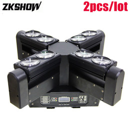 $enCountryForm.capitalKeyWord Australia - 80% Off 8*10W LED Laser Beam Moving Head Sound Light Pro Stage Effect Entertainment Rent Audio Equipment DJ Disco Music Systems Blichten