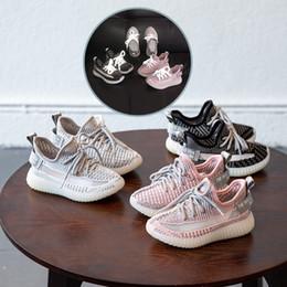 6e46fba31c niños zapatillas niños coreano ángel estrellado volando tejido deportivo casual  zapatos chicas niños luminoso malla transpirable diseñador zapatillas de ...