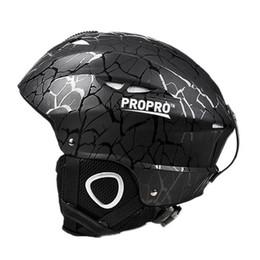 $enCountryForm.capitalKeyWord Australia - Propro Black Kids Children Adult Snowboard Ski Helmet Veneer Skateboard Skiing Helmet Outdoor Sports Breathable Windproof Warm