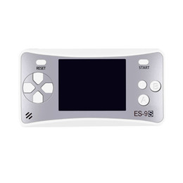 $enCountryForm.capitalKeyWord NZ - Mini game player MD-ES-9S Dry Battery 8-bit hand-held game console Portable style in hand Old Style Chinese And English Version