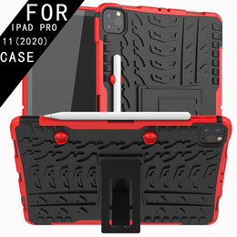 pro tablets NZ - Case For IPAD PRO 11 2020 MINI 1 2 3 4 IPAD air 2017 PRO 10.8 air9.7 Cover Heavy Duty 2 in 1 Hybrid Rugged Durable Tablet Stand Shell
