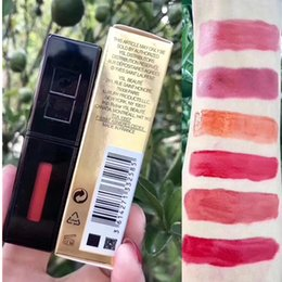 $enCountryForm.capitalKeyWord Australia - HOT Y Brand Makeup 6 Colors Lip ROUGE PUR COUTURE VERNIS a levre Gloss Stain 6ML Matte Lipstick Long-Lasting Lipgloss maquillage