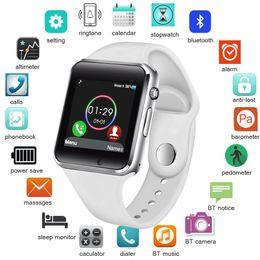Bluetooth Smart Watch Sim Australia - Bw Smart Watch Men Women Support Sim Tf Card Bluetooth Call Pedometer Waterproof Sport Smartwatch Android Ios Relogio Masculino Y19051703