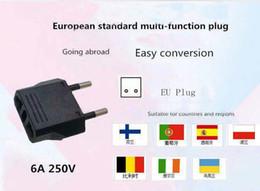 $enCountryForm.capitalKeyWord Australia - Top selling universal international travel world adaptor mini socket plug multi function 6A 22 V power EU mini converter plug