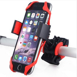 holder for navigator UK - Bicycle Handlebar mobile phone Holder Bicycle riding equipment Mountain bike mobile phone Stand GPS navigator bracket For all phones