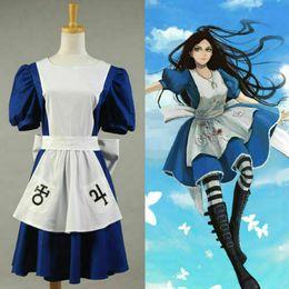 $enCountryForm.capitalKeyWord Australia - American McGee's Alice Madness Returns Cosplay Costume Classic Maid Dress