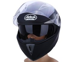 $enCountryForm.capitalKeyWord NZ - New Motorcycle Helmet Full Face Dual Visor Street Bike with Transparent Shield with ABS Material with Hot Pressure Sponge LinerFree Shipping