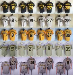 Vintage baseball jerseys online shopping - Vintage Pittsburgh Willie Stargell Roberto Clemente Pirates Barry Bonds Dave Parker Kent Tekulve Baseball Jerseys