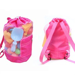 $enCountryForm.capitalKeyWord Canada - Kids Beach Bags Shell Mesh Pouchs Sand Away Case Tool Tote Portable Folding Toys Storage Children Sandboxes Net Organizer Backpack D24*H48cm