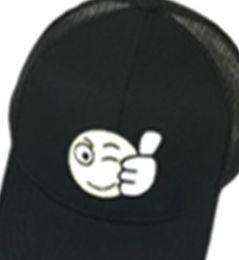 $enCountryForm.capitalKeyWord UK - Black Children's Baseball Cap Boy's Spring And Summer Girl's Duck Tongue Cap Baby's Sun Hat Breathable Thin Sunshade Net Hat