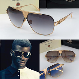 f63ad284b719 Top high end fashion brands online shopping - Top luxury men glasses THE DEFIANT  brand Maybach