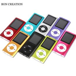 Support giftS online shopping - BON CREATION inch LCD Screen MP3 Music Player Metal Housing Support GB SD Card FM Radio Games Video Player Pretty Gift