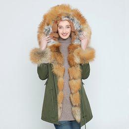 $enCountryForm.capitalKeyWord UK - OFTBUY 2017 long Camouflage winter jacket coat women outwear warm thick parka natural real fox fur collar coat hooded ukraine