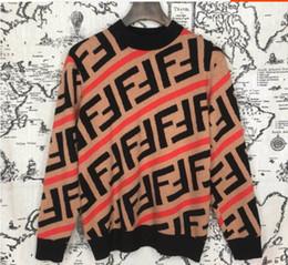 Ingrosso Felpe maglione di marca pullover maglione lettera marchio di design per abbigliamento da uomo donna outwear