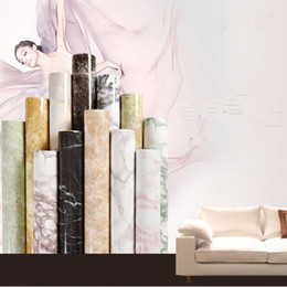 $enCountryForm.capitalKeyWord UK - 60*100cm Thick waterproof pvc imitation marble pattern stickers wallpaper self-adhesive wallpaper renovation of furniture