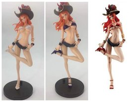 $enCountryForm.capitalKeyWord NZ - 27CM pvc Japanese anime figure ONE PIECE Nami SEXY GIRL detachable suit captain action figure collectible model toys