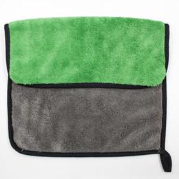 $enCountryForm.capitalKeyWord UK - 2019 Towel 10 pcs 600gsm Car Wash Microfiber Towels Super Thick Plush Cloth For Washing Cleaning Drying Absorb Wax Polishing