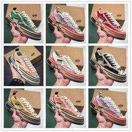 Spring Fall Canvas Shoes Australia - 2019 men's and women's low-top casual matching color canvas shoes men's trend versatile sports board shoes cork beggar shoes sneakers n23