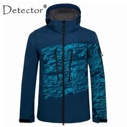 $enCountryForm.capitalKeyWord Australia - Detector Waterproof Thermal Hiking Jacket Men Tactical Camouflage Softshell Jacket Hunting Fishing Climbing Raincoat Windbreaker