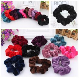 high end christmas ornaments UK - Hot sale Hair ornaments high-end winter velvet head flower fashion wild hair accessories