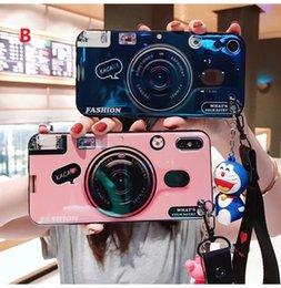 Designs For Iphone Cases Australia - Camera Cases For IPhone XR XS MAX 6 7 8Plus Soft Silicone Cute Cradle Design