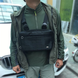 New Hot Fashion Alyx Chest Rig Hip Hop Streetwear Functional Tactical Chest Bag Cross Shoulder Bag Kanye West from samsung s6 waterproof manufacturers