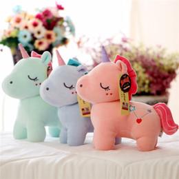 $enCountryForm.capitalKeyWord Australia - 20170619 Hot Sale 30cm Cute The Unicorn Colorful Plush Toy Beautiful Doll Stuffed Animal Children Brithday Gift
