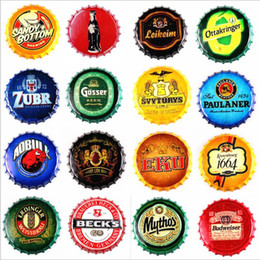 bottle paintings designs Australia - Beer Metal bar poster Corona Extra Vintage round tin sign bottle cap design beer cap metal craft for bar restaurant coffe shop LXL303
