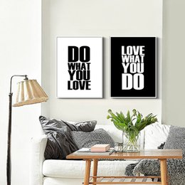 Discount english style home decor - Poster Modern Simple Style English Decorative Paintings living Room 1 Pc Painting Core Without Frame Home Decor Bedroom