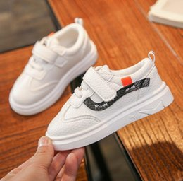 Discount girls shoes years old - 2019 new children's Korean sports shoes girls casual flat shoes 1-12 years old boys wild size 21-35