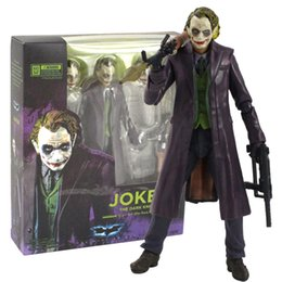 red batman figure Australia - 15 cm New Joker The Dark Knight Batman Action figure toys doll Christmas gift with box
