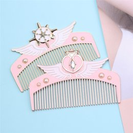 $enCountryForm.capitalKeyWord Australia - Designer Anti-static Hair Comb Styling Tools Shower Massage Combs For Styling Women Hair Fashion Beautiful Girl Comb Plastic Hair Brush