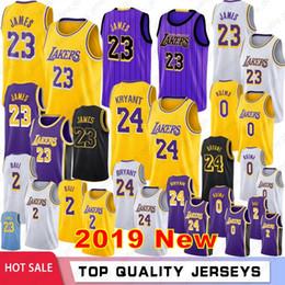 bd9f39832 Jersey logos online shopping - LeBron James New Basketball Jerseys Bryant  Kobe Kyle Kuzma Los Angeles