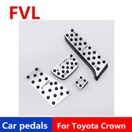 toyota pedals NZ - Car pedals For Toyota Crown   Toyota Camry Accelerator Pedal Brake Pedal Footrest Pedal