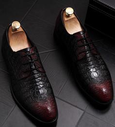 $enCountryForm.capitalKeyWord Australia - British carve patternsDerby Oxford lace-up shoes men business suits custom-made wedding shoes genuine leather men's dress shoes a27