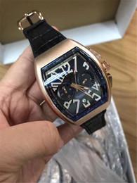 $enCountryForm.capitalKeyWord Australia - 2019 stainless steel quartz men's leather watch multi-function design life waterproof sports men's watch