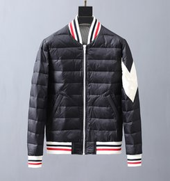 clothes model stand NZ - MONCLERs men designer down jacket high quality casual winter jacket wild couple models winter clothing 19ss top brand trend fashion coat