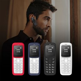 Wholesale L8STAR BM30 Mini Phone SIM TF Card Unlocked Cellphone GSM G G G Wireless Headphone Bluetooth Dialer Headset Mobile with Mp3