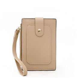 $enCountryForm.capitalKeyWord NZ - New Multi-card Bit Korean Version Of The Popular Wild Wallets Wrist Strap Fashion Hand Wsallet Personality Handbag Tide Mini