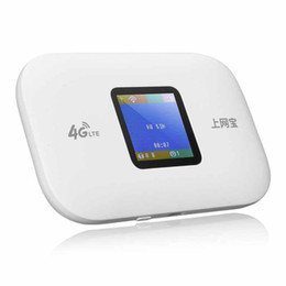 3g routers Australia - 4G 3G Wireless Mobile WiFi Hotspot Router Modem 2050mAh Battery Router 150Mbps 4G LTE Router with Sim Card slot