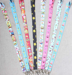 $enCountryForm.capitalKeyWord Canada - 200 PCS Anime Keychain Premium Lanyard id badge holder keychain straps for mobile phone Free Shipping